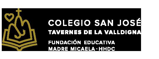 Web del colegio San José. Tavernes de Valldigna. HHDC